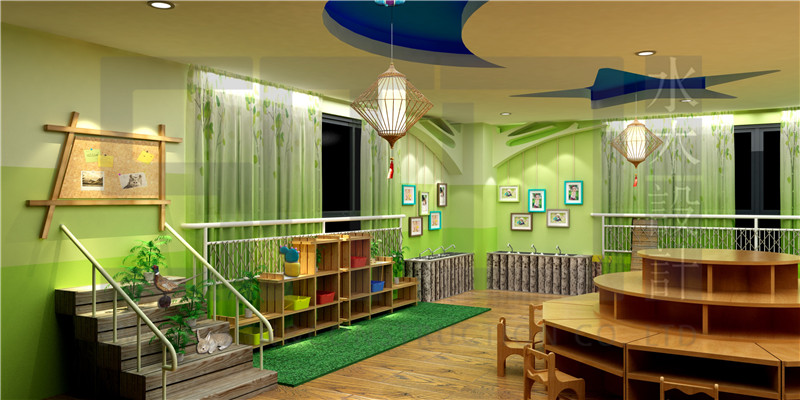 苏州常青幼儿园校园文化展示厅